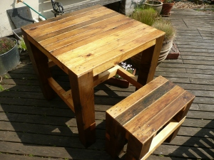 Bistro Table-Benches (3)